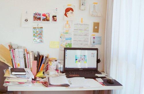 Decoração: Escrivaninha «